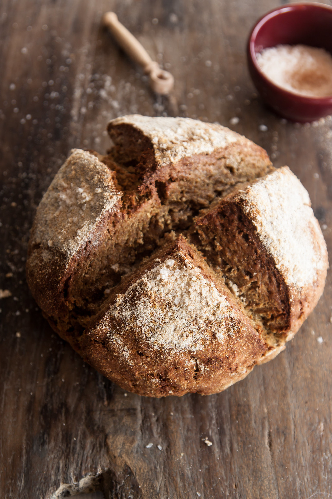 1X Umrühren Bitte Aka Kochtopf rye soda bread