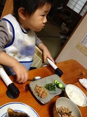 朝御飯 (2012/10/14)