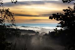 [フリー画像素材] 自然風景, 朝焼け・夕焼け, 霧・霞, 風景 - イギリス ID:201210210600