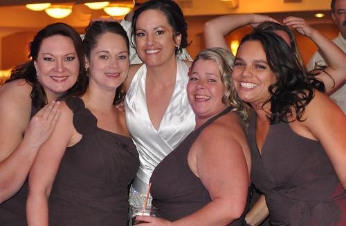 Kim's wedding girls