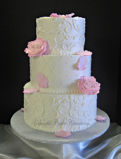 Ivory Icing For Wedding Cakes