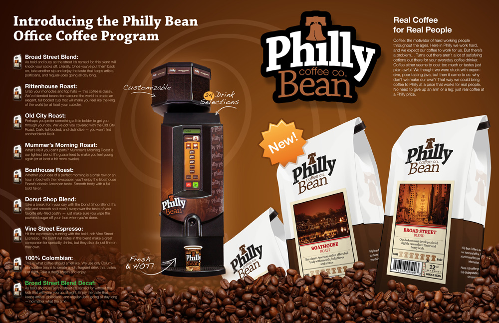Philly Bean Distributor Flyer