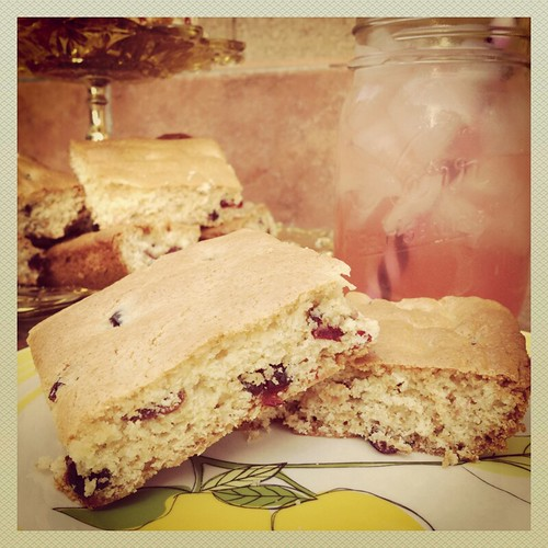 Cranberry Lemonade Bars by Heather Says