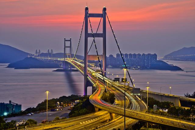 Лантау Міст Tsing Ma Bridge
