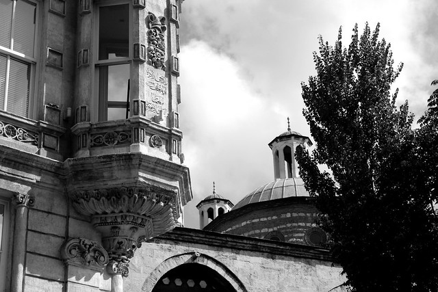 B&W architecture in Istanbul