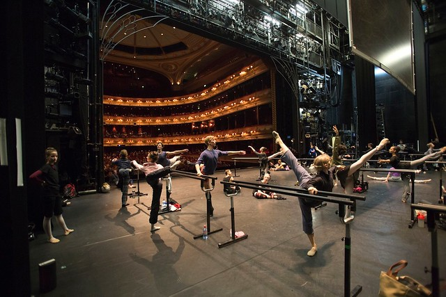 The Royal Ballet in Class on the Royal Opera House Main Stage © Andre Uspenski 2012