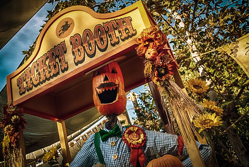 Step Right Up At The Halloween Carnival At Big Thunder Ranch Jamboree by hbmike2000