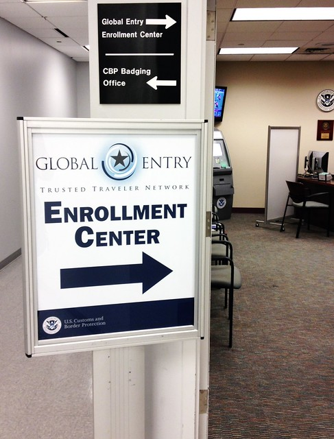 Global entry yet another advantage to having never been arrested
