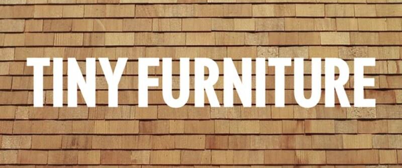 tiny furniture.