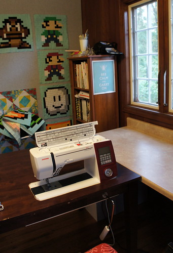Sewing Room Redo