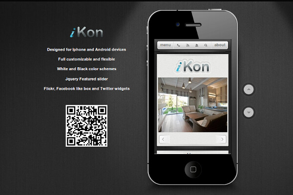 iKon WordPress Mobile Theme