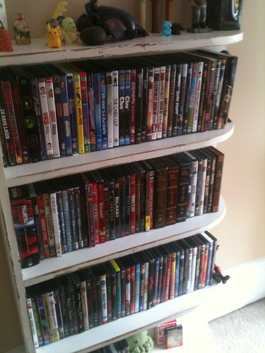Movie book case