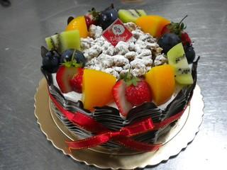 生日蛋糕 水果百匯