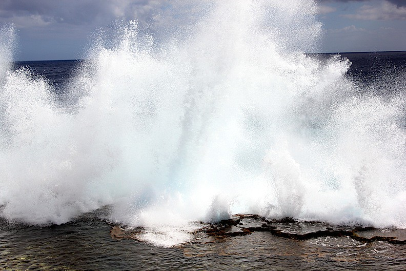 Image result for Pupu'a Puhi blowholes