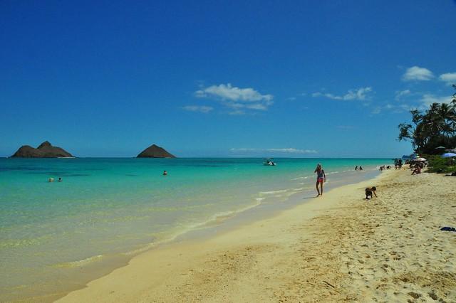 Na Mokulua Hawai: Na Mokulua Islands Off Of Lanikai Beach