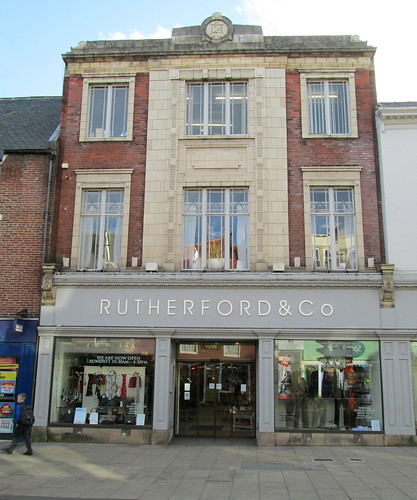Art Deco Building, Bridge Street,  Morpeth, Northumberland.