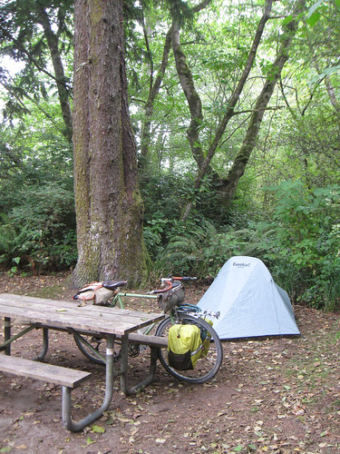 Autumn Bicycle Camping Day 2 - Campsite