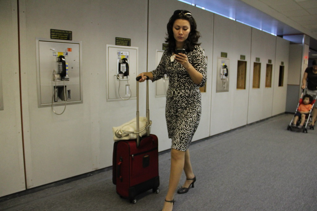 Business Traveller, and airport phones