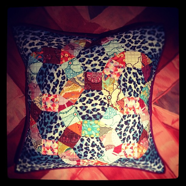 Field Study pillow - finished!