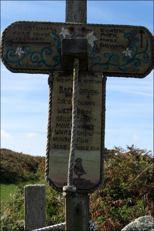 St Agnes weather station