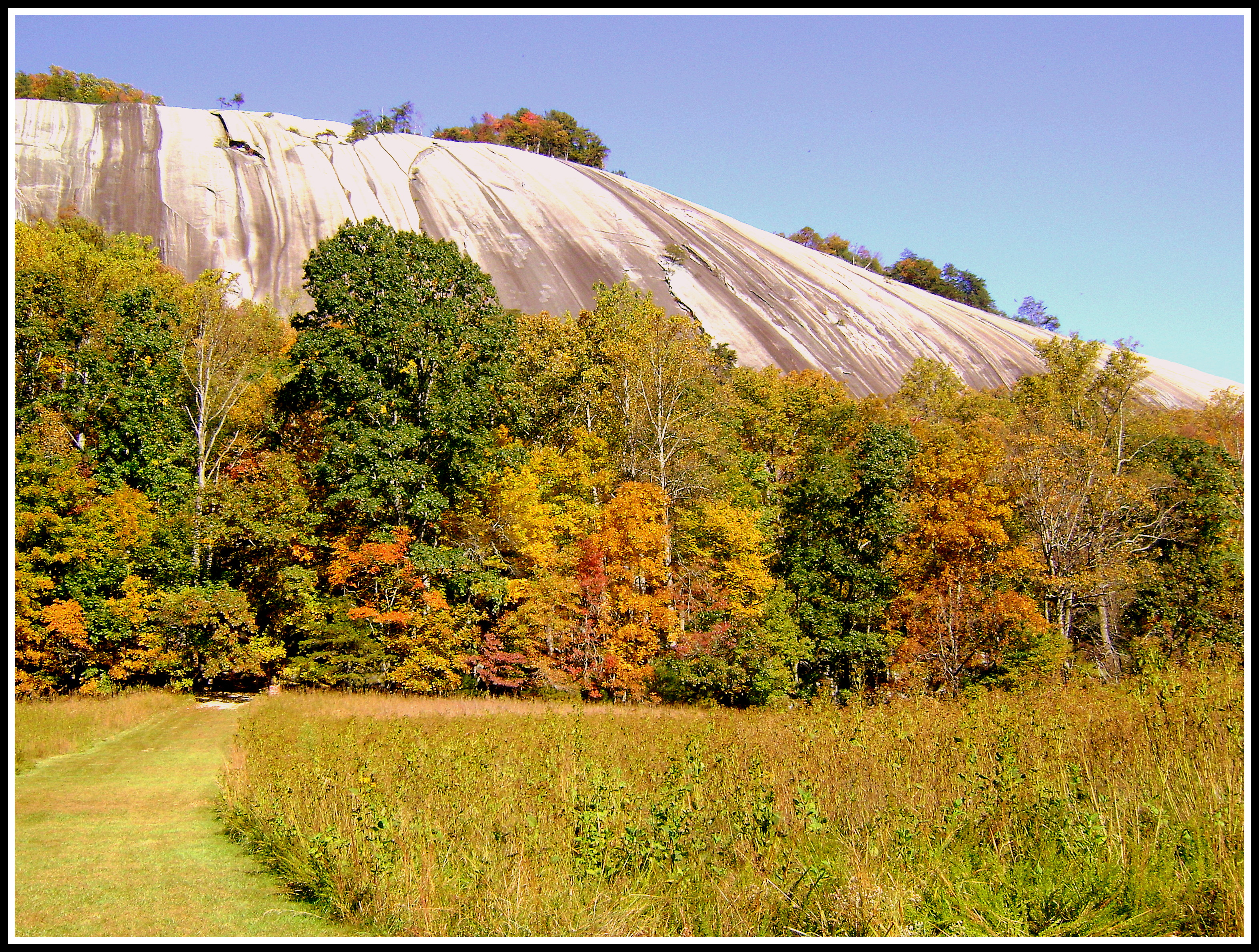Stone Mountain State Park Elevation : Elevation of austin traphill rd nc usa