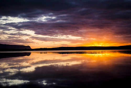 Loch Stenness - Sunset by MJSFerrier