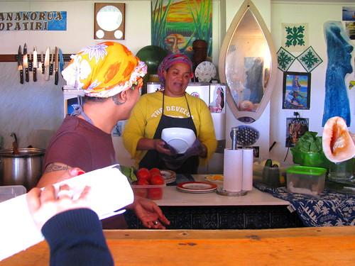 Las cocineras del Carrito Popatiri