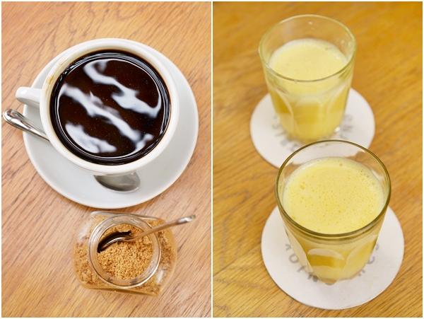 Coffee & Fresh Orange Juice
