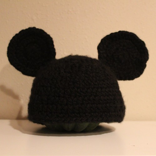 Knitting Pattern Mouse Hat : Knit Mickey Mouse Hat Free Pattern Joy Studio Design Gallery - Best Design
