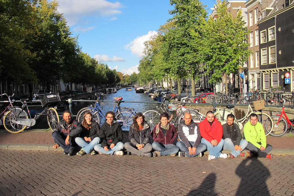 Delegació terrassenca a Amsterdam (Països Baixos)
