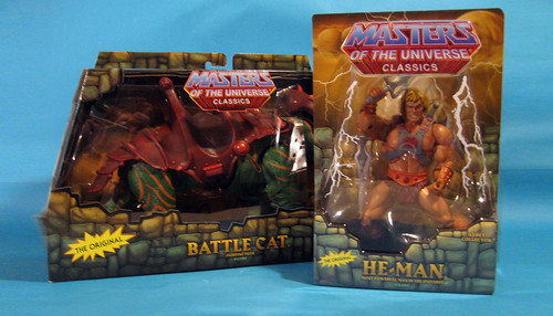 He-Man and Battle Cat Packaging