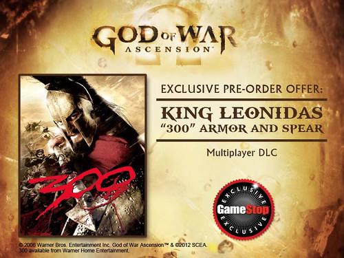 God of War Ascension 300 Promotion