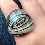 glass foil ring from tag sale in Woodbury
