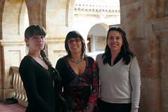 Lucía García Holgado, Alicia García Holgado y Valentina Zangrando