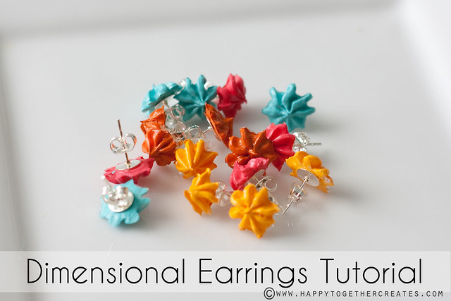 Dimensional Earrings Tutorial