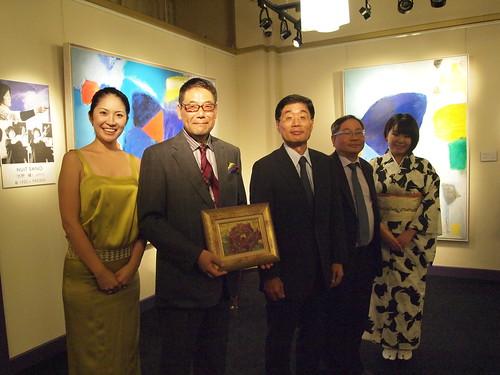 Grand Opening of Nikei Fine Art Singapore at Raffle Hotel Arcade