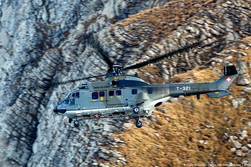 Swiss AF Eurocopter AS332 Super Puma T-321