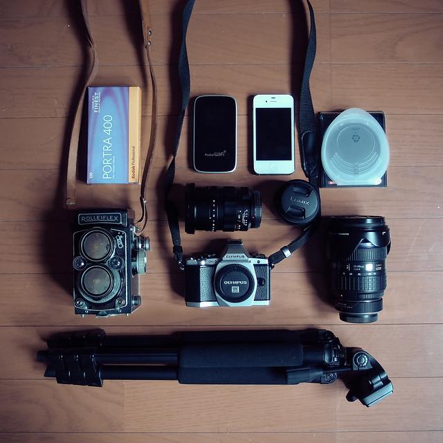 旅行に行ってきま〜〜〜す。