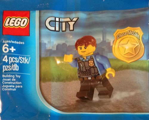LEGO City: Undercover Chase McCain Minifigure