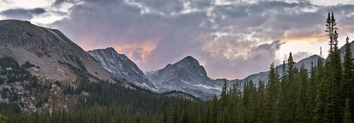 sunset panorama mountains clouds landscape colorado rockymountains californialandscapeart larrydarnell