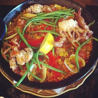 Paella Cerveseria. Mmm! #lunch