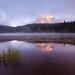 Sunrise Reflection Lake - Mountain Rainier, Washington by Will Shieh