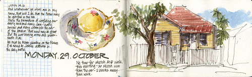 121029 Morning Sketching