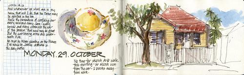121029 Morning Sketching