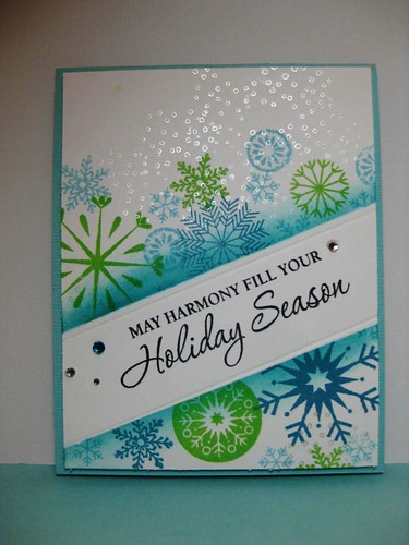 Online card classes Day 1 by Craftin' Judy