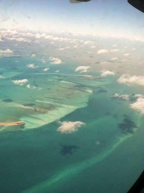 flying into abaco