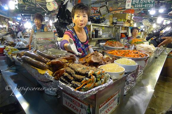 Gwangjang market-street food