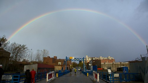 A rainbow over Brooklyn