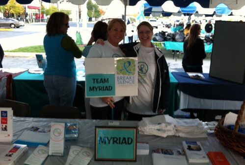 Walk to Break the silence in Maryland