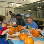 Pumpkin Carving at Moo